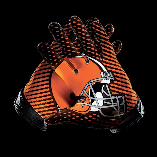 C055 Cleveland Browns Gloves