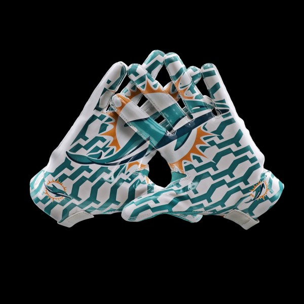 C092 Miami Dolphins Gloves