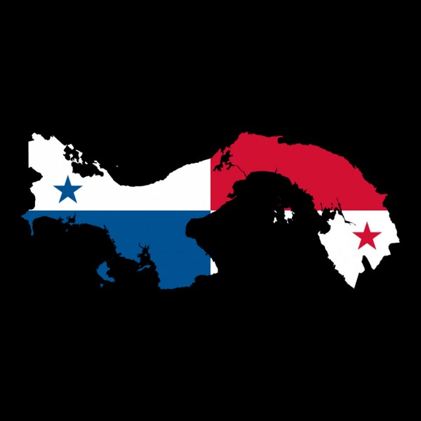 C113 Panama Flag Map