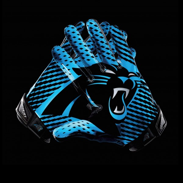 C266 Carolina Panthers Gloves