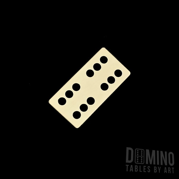 T018 Black Inlay Domino