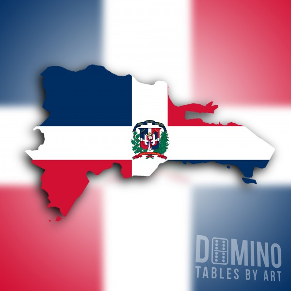 T107 Dominican Flag