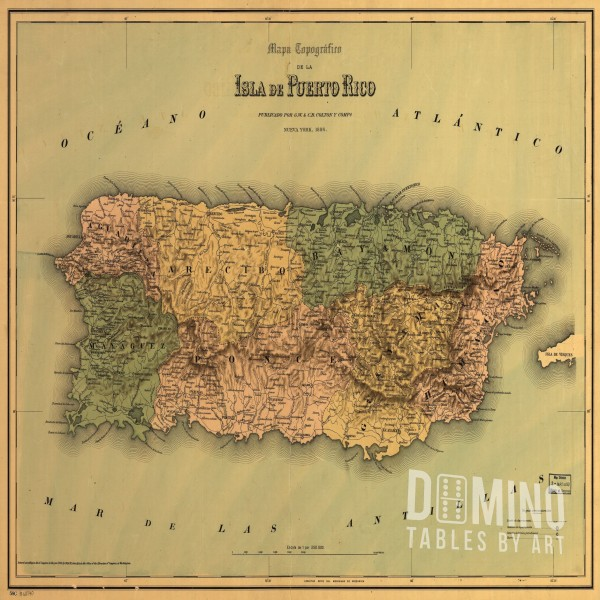 T206 Ancient Puerto Rican Map