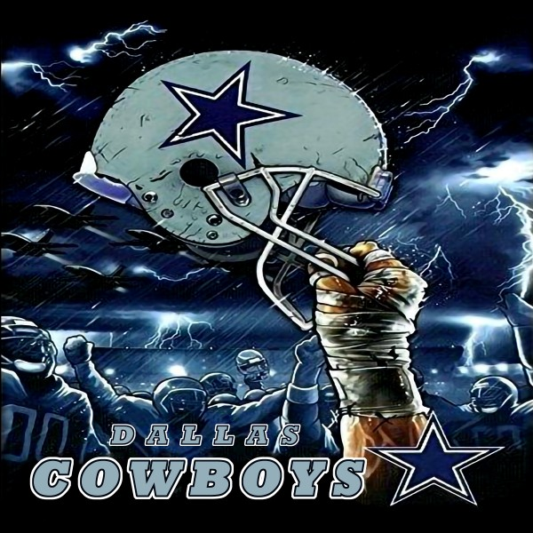 TS003 Dallas Cowboys Abstract