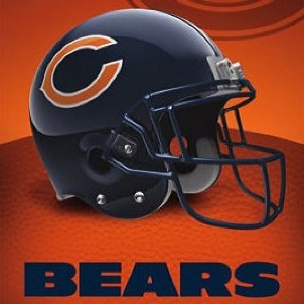 TS038 Chicago Bears Helmet