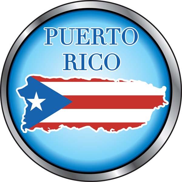 C001 Puerto Rican Flag Island