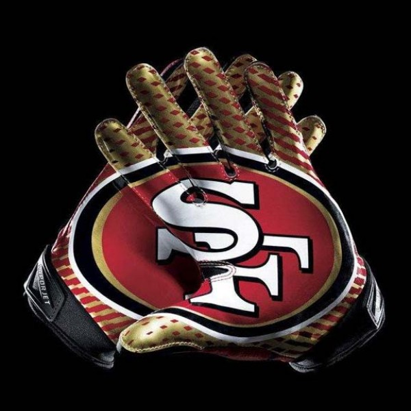 C278 San Francisco 49ers Gloves