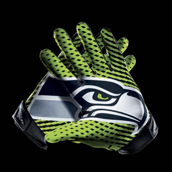 C279 Seattle Seahawks Gloves