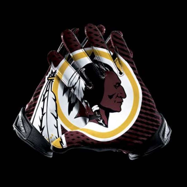 C288 Washington Redskins Gloves